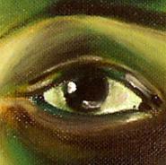 Augen-Serie<br /> Öl auf Hartfaserplatte<br /> diverse Formate